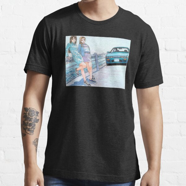 Mako & Sayuki Initial D Essential T-Shirt
