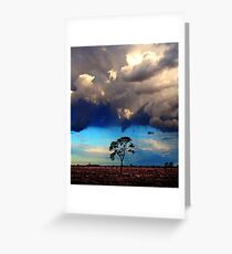 Turbulence Greeting Card