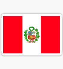 Peru flag Sticker