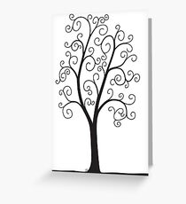 A Slight Case of Overcurling Greeting Card