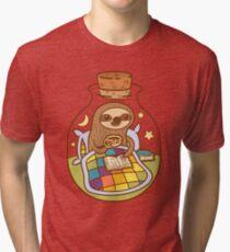Sloth in a Bottle Tri-blend T-Shirt