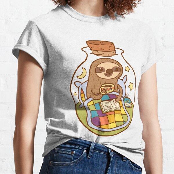 Faultier in einer Flasche Classic T-Shirt