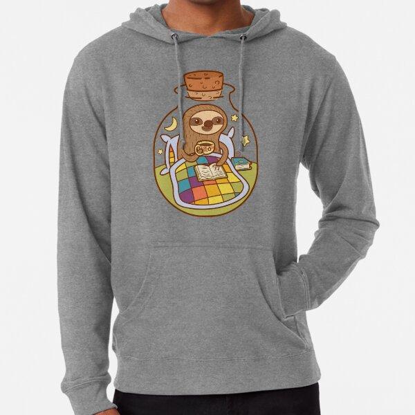 Sloth in a Bottle Lightweight Hoodie