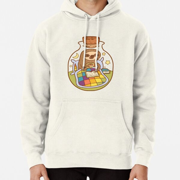 Sloth in a Bottle Pullover Hoodie