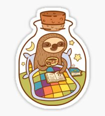 Sloth in a Bottle Sticker