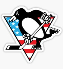 USA Pittsburgh Penguins Sticker