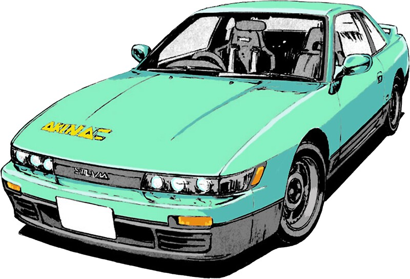 Iketani 39 s silvia s13 initial d stickers by godtiermeme for Home decor s13 9ad