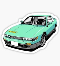 Iketanis Silvia S13 Initial D Sticker