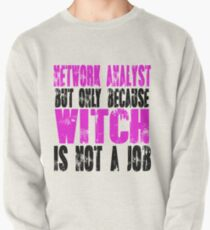 Network Analyst Witch Pullover