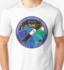 SpaceX SPX10, CRS-10 Patch Logo T-Shirt