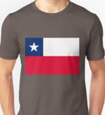 Chile flag Unisex T-Shirt