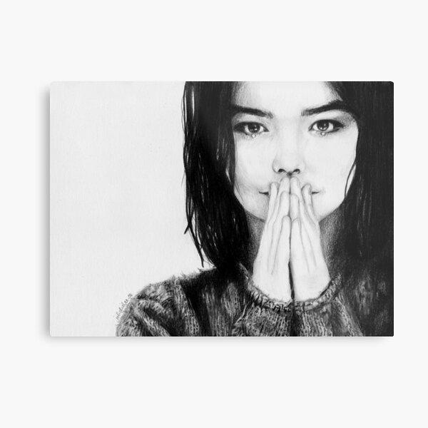 Björk Metal Print