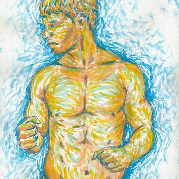 Golden Boy by isrealrod