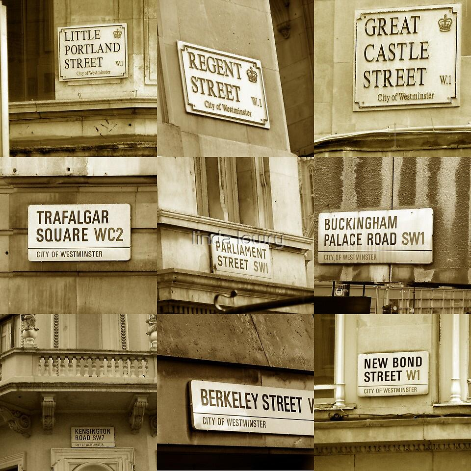 westminster street signs by linda lowry