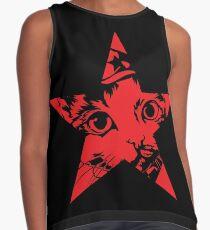 Kitten Squidgy - Red Star Contrast Tank