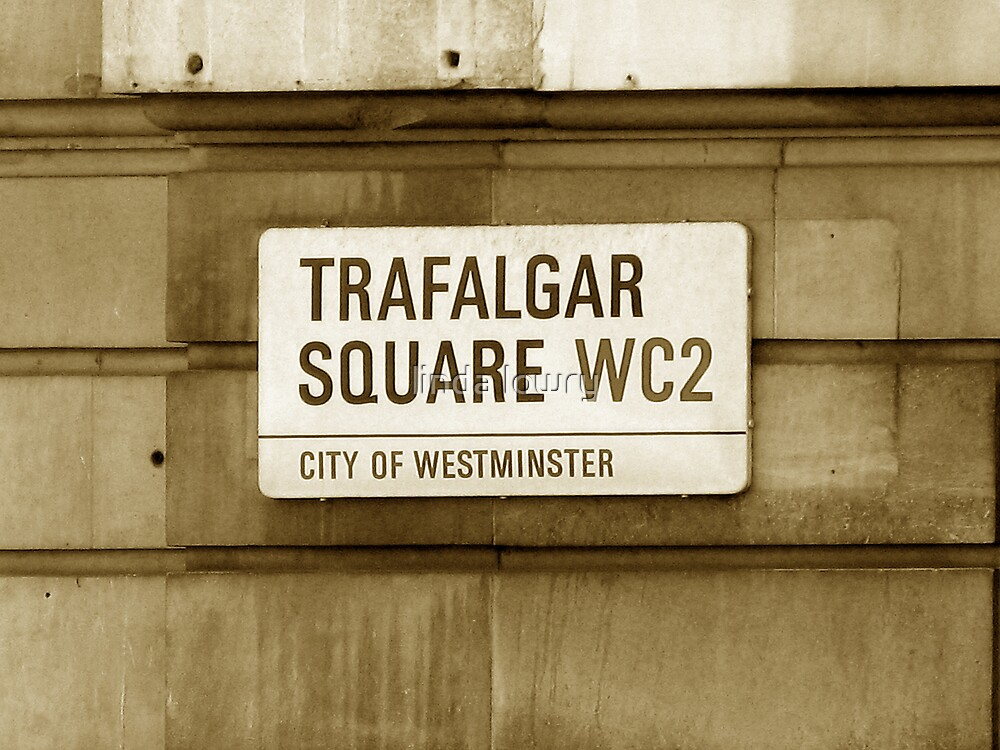 Trafalgar Square WC2 by linda lowry