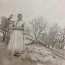 Strong Colonial Woman by ArtByJessicaJ