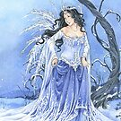 Blue Ice Snow Queen Fairy by meredithdillman