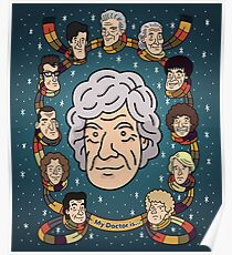 My Doctor is... The Third Doctor Poster