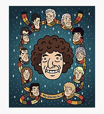 My Doctor is... The Fourth Doctor  Photographic Print