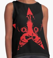 Scout Fawkes - Red Star Contrast Tank