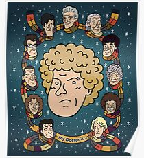 My Doctor is... The Sixth Doctor  Poster