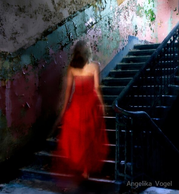 Staircase to the Light by Angelika  Vogel