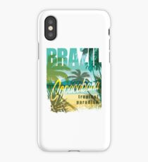 Brazil Tropical Paradise iPhone Case/Skin