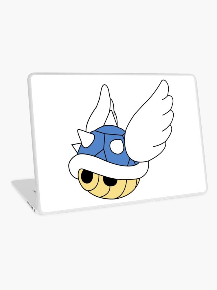 Blue Shell Mario Kart Carapace Bleue | Laptop Skin