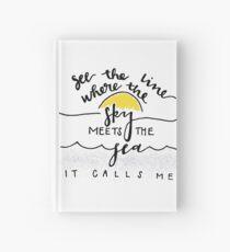 the horizon calls Hardcover Journal