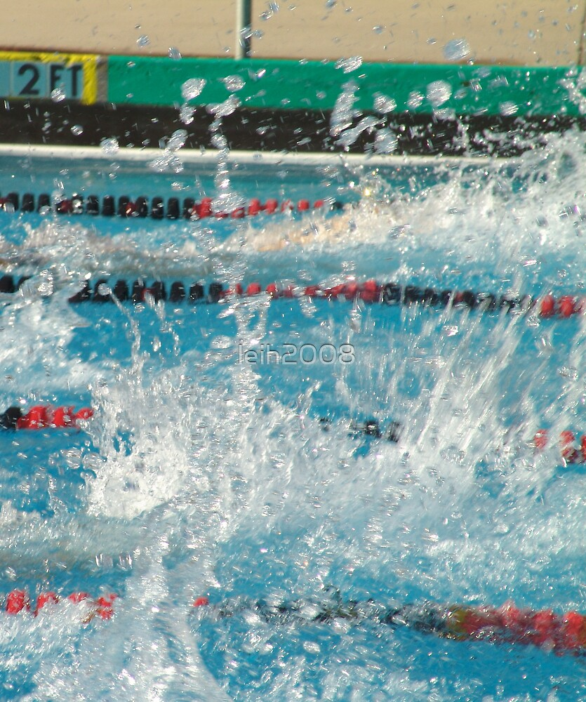 Swim relays - Love the waves that they make!  4-7-2005 Troy HS Fullerton, CA by leih2008