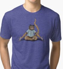Yoga Monkey Tri-blend T-Shirt