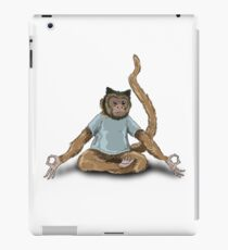 Yoga Monkey iPad Case/Skin