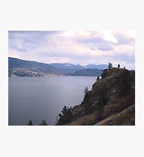Skaha Lake Photographic Print