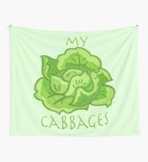 my cabbages! Wall Tapestry
