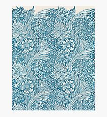 Marigold Floral Pattern by William Morris, 1875  Photographic Print