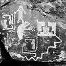 """Petroglyphs at Galisteo"" by David Lee Thompson"
