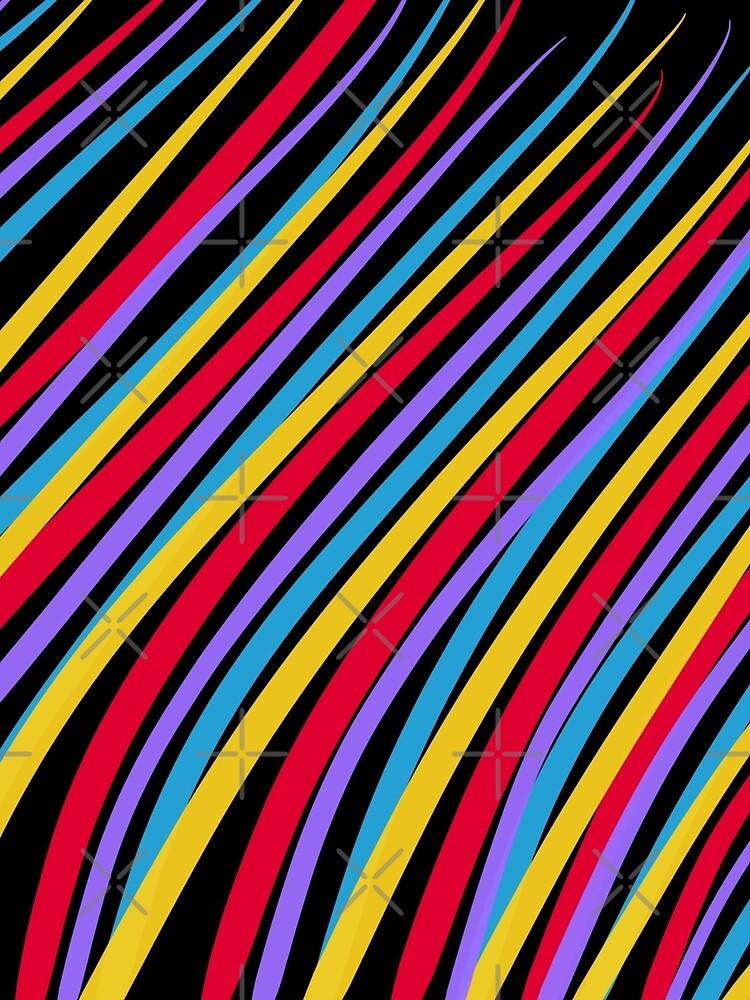 Streaking by OneDayOneImage - 80s Style - Pop Art - Graduation Gift Idea by OneDayArt