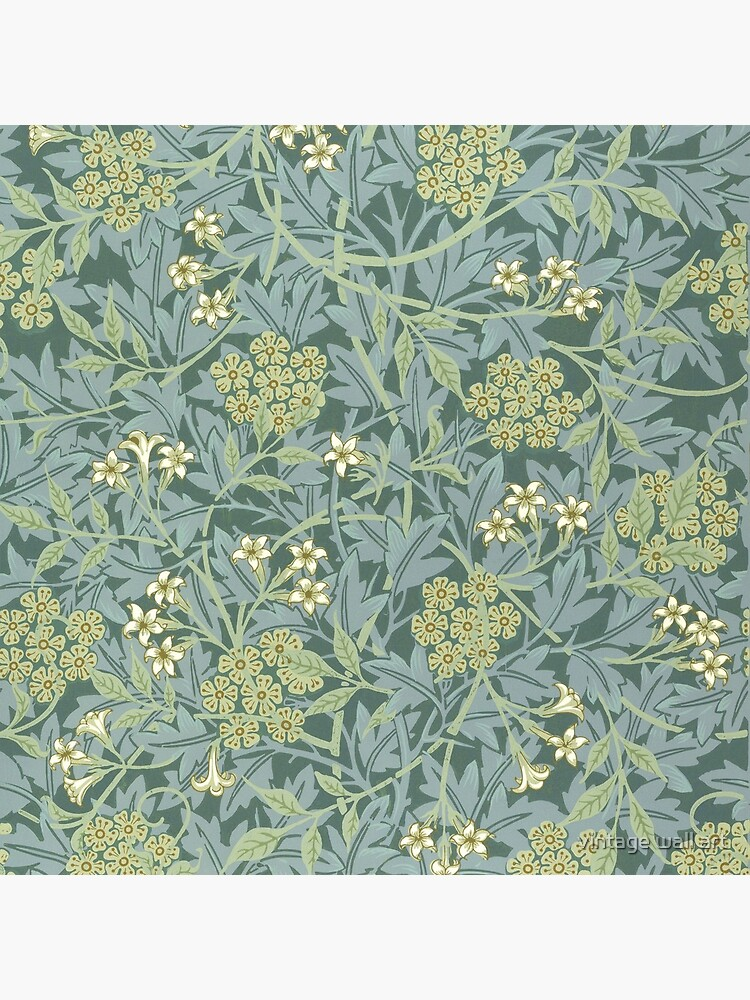 Jasmine Pattern by William Morris, 1872 by fineearth