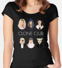 Clone Club V2 Women's Fitted Scoop T-Shirt
