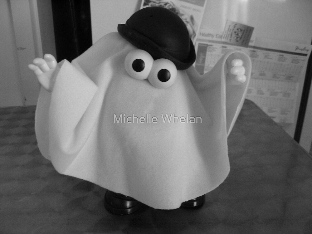 boo! i'm a ghost! by Michelle Whelan