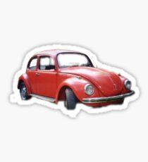 Little red Beetle  Sticker