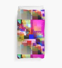 Color Block Explosion Duvet Cover