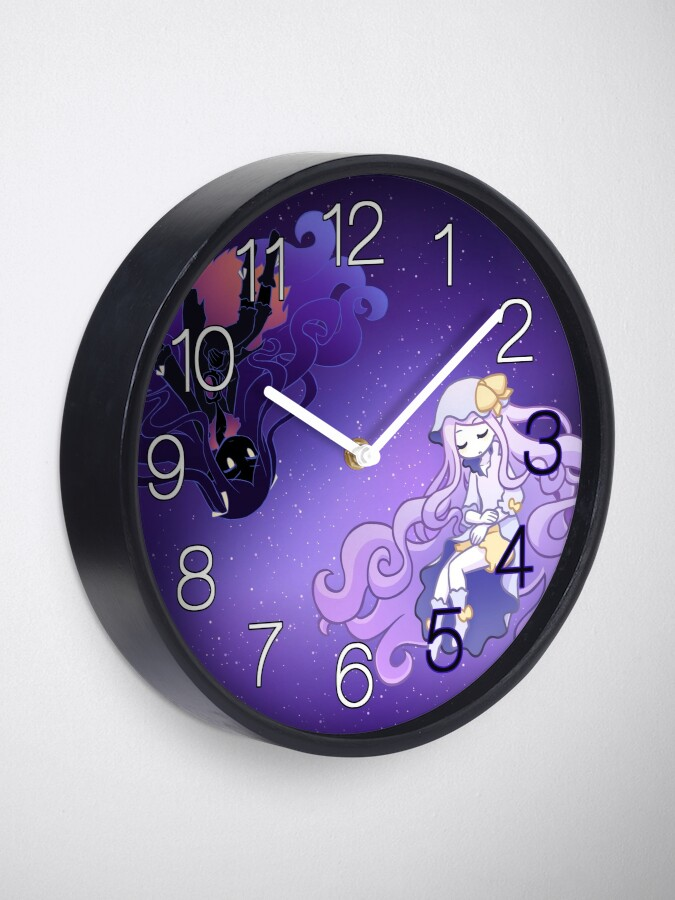 Alternate view of her tears were my light clock Clock