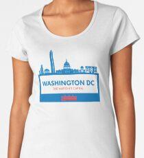 Washington DC Capital Shirt Women's Premium T-Shirt