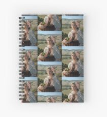 Harvest Rose Spiral Notebook