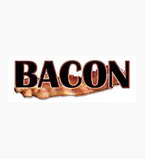 BACON Photographic Print