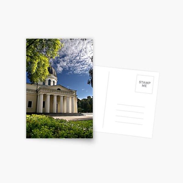 Chisinau Cathedral Postcard