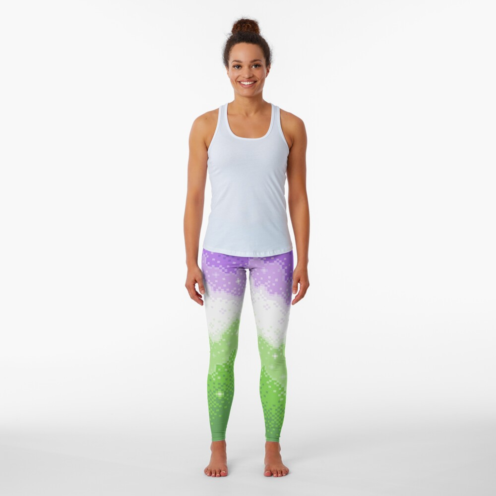 Genderqueer Pride Galaxy Leggings