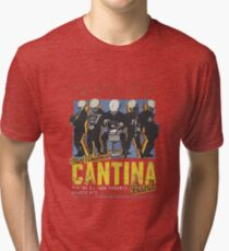 Cantina Band On Tour Tri-blend T-Shirt